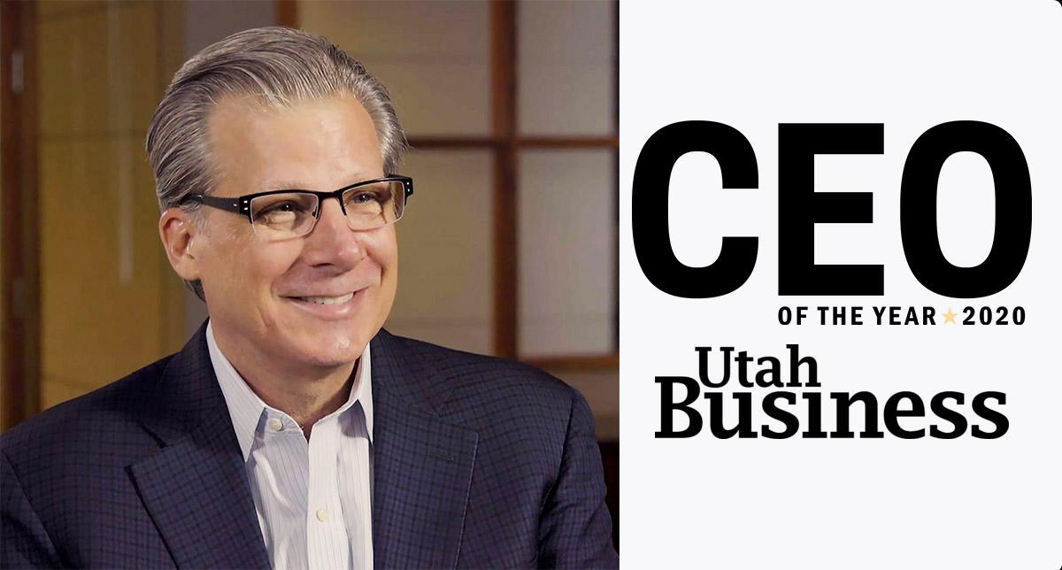 John P. Benson – Utah Business CEO of the Year