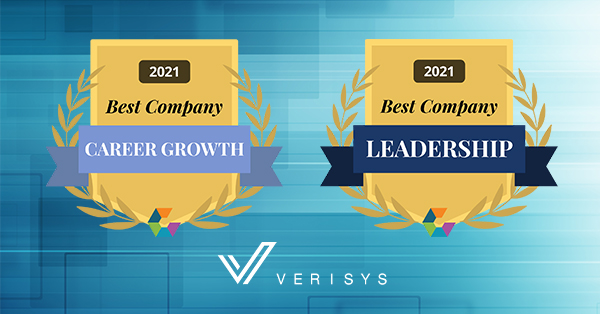 Award plaques for Best Career Growth and Leadership